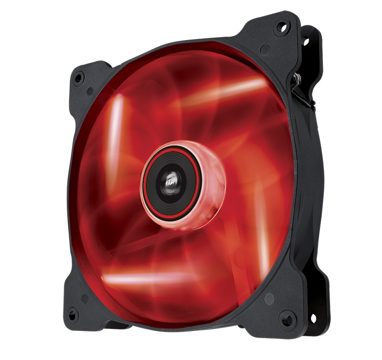 CORSAIR Air SP140 LED Red Single Pack