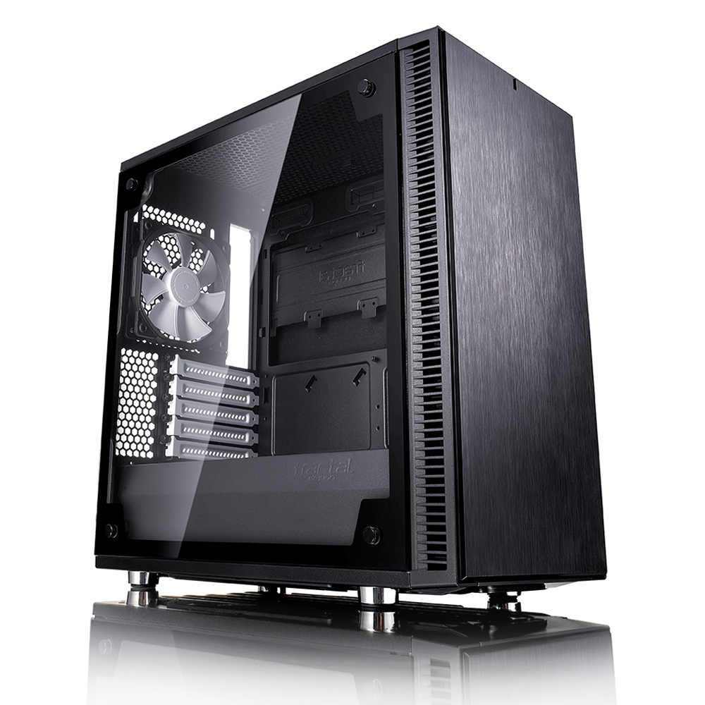 FRACTAL DESIGN Define Mini C Black Tempered Glass