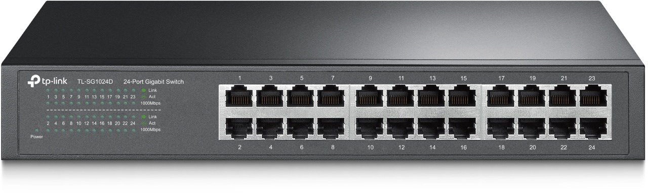 TP-LINK TL-SG1024D 24-Port ECO