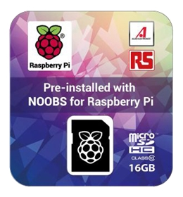 RASPBERRY Pi 16 GB SD Card