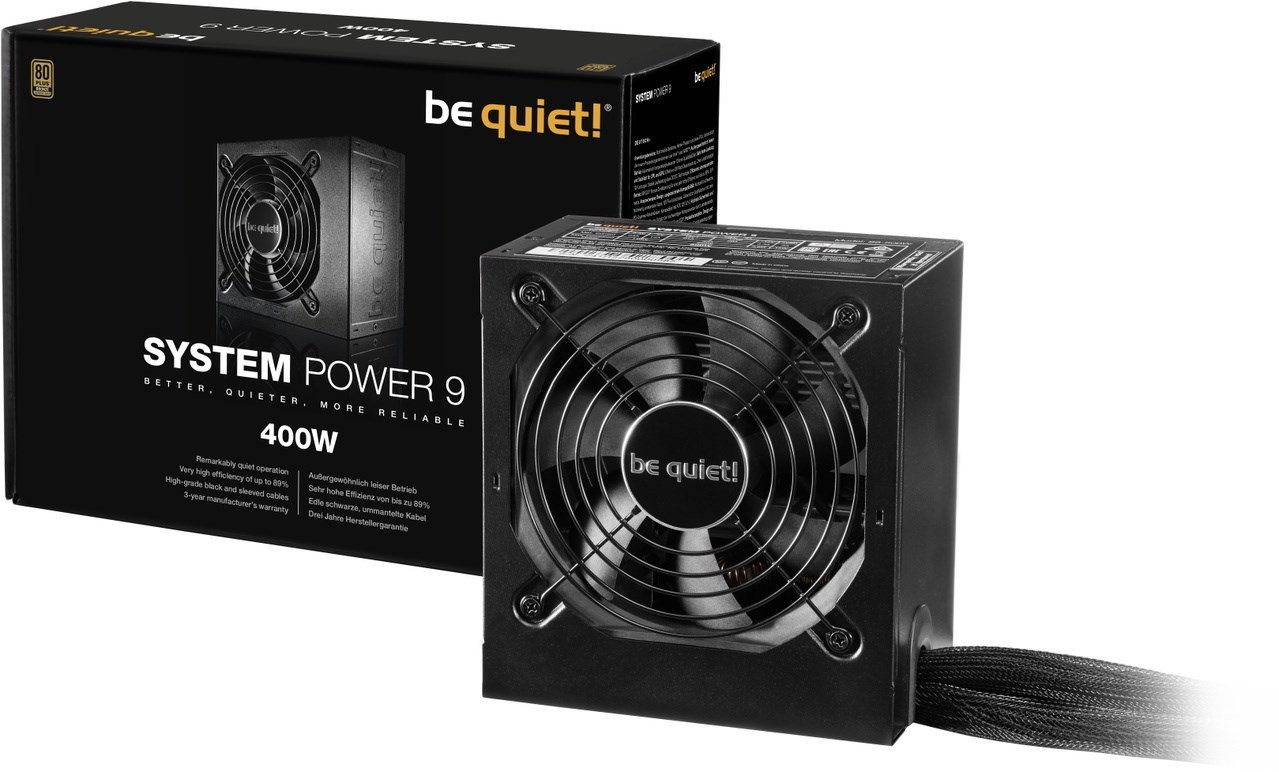 BE QUIET! 400W System Power 9