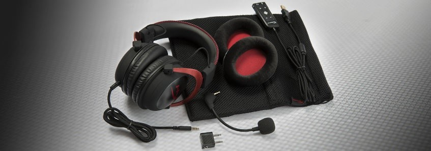 KINGSTON HyperX Cloud II Red 4