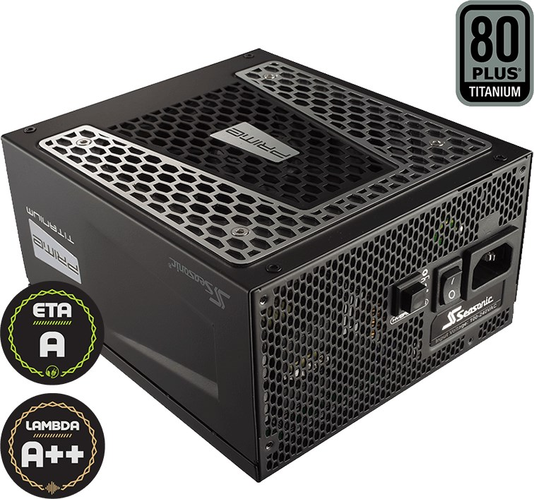 SEASONIC Prime Ultra Titanium 850W