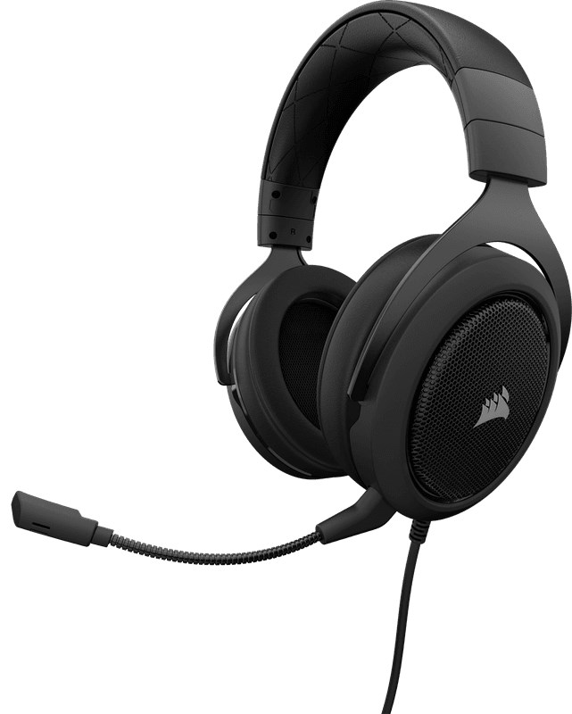 CORSAIR HS60 7.1 Surround Gaming Carbon Black