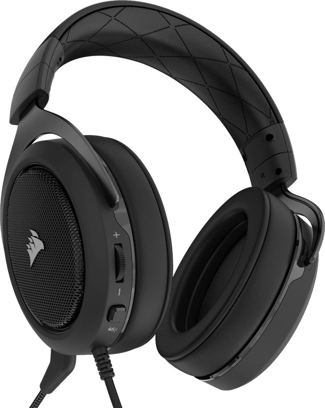 CORSAIR HS60 7.1 Surround Gaming Carbon Black 2