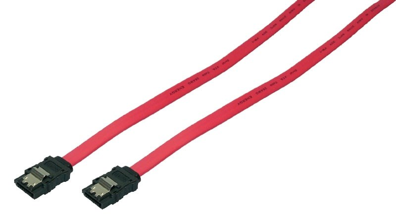 LOGILINK 0.9m SATA Cable RED