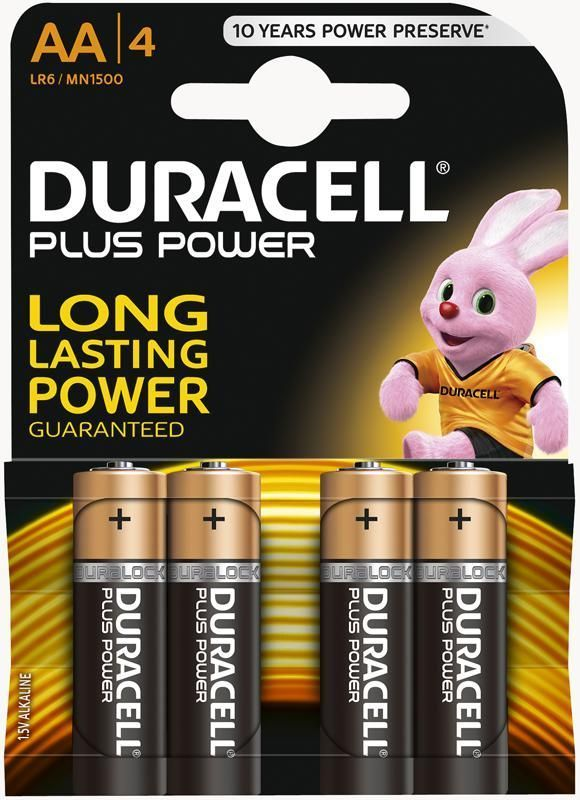 DURACELL Plus Power AA MN1500 (4 stuks)