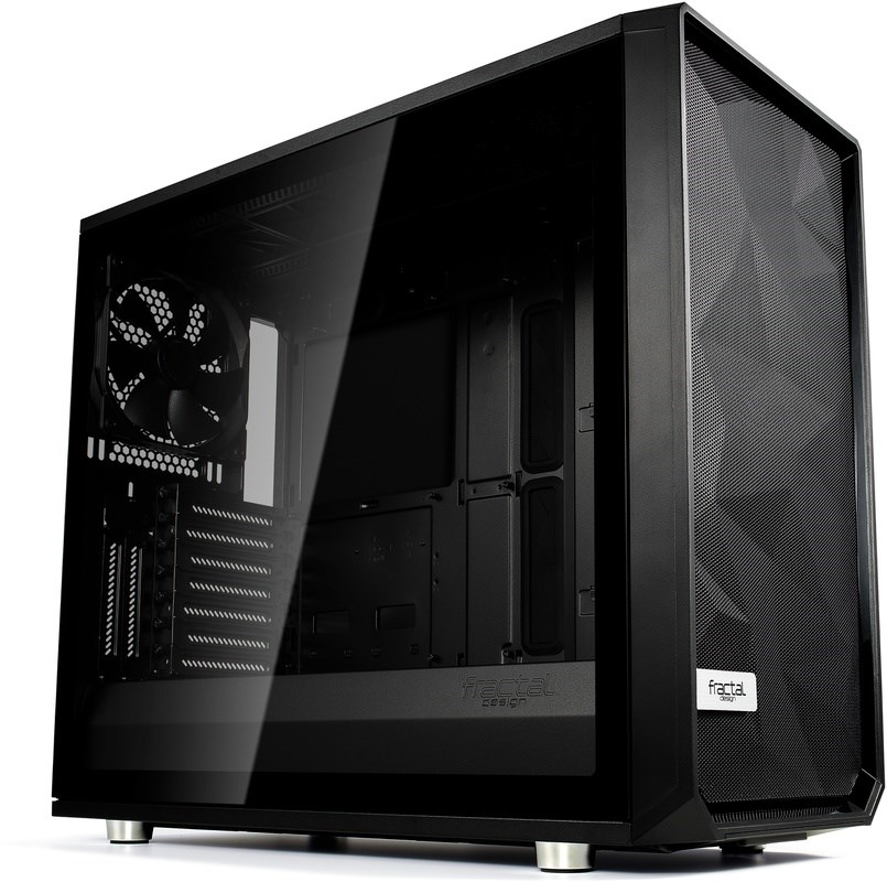 FRACTAL DESIGN Meshify S2 Blackout TG Dark Tint