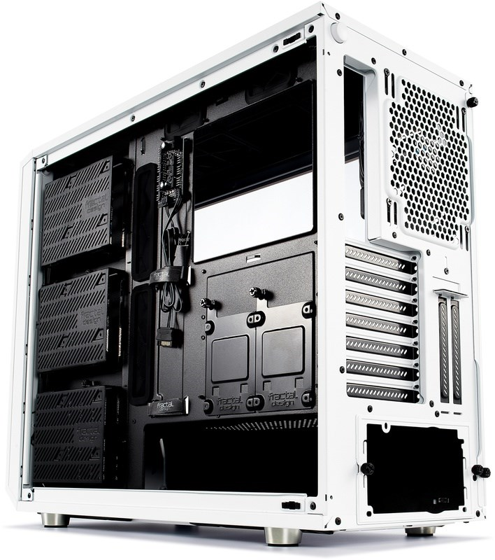 FRACTAL DESIGN Meshify S2 White Tempered Glass Clear 2