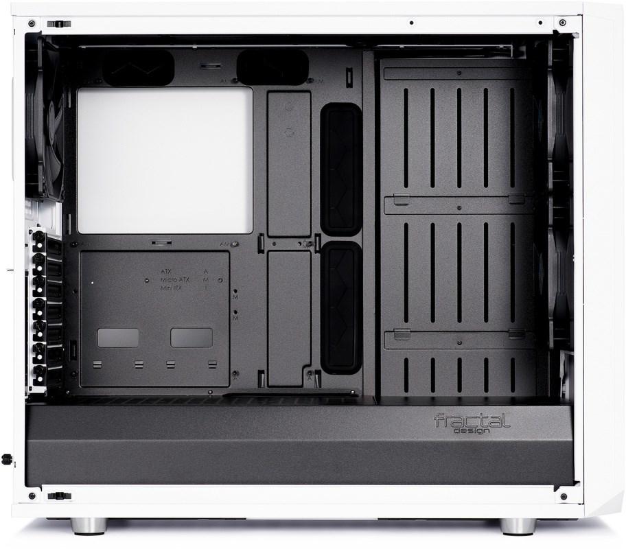 FRACTAL DESIGN Meshify S2 White Tempered Glass Clear 3