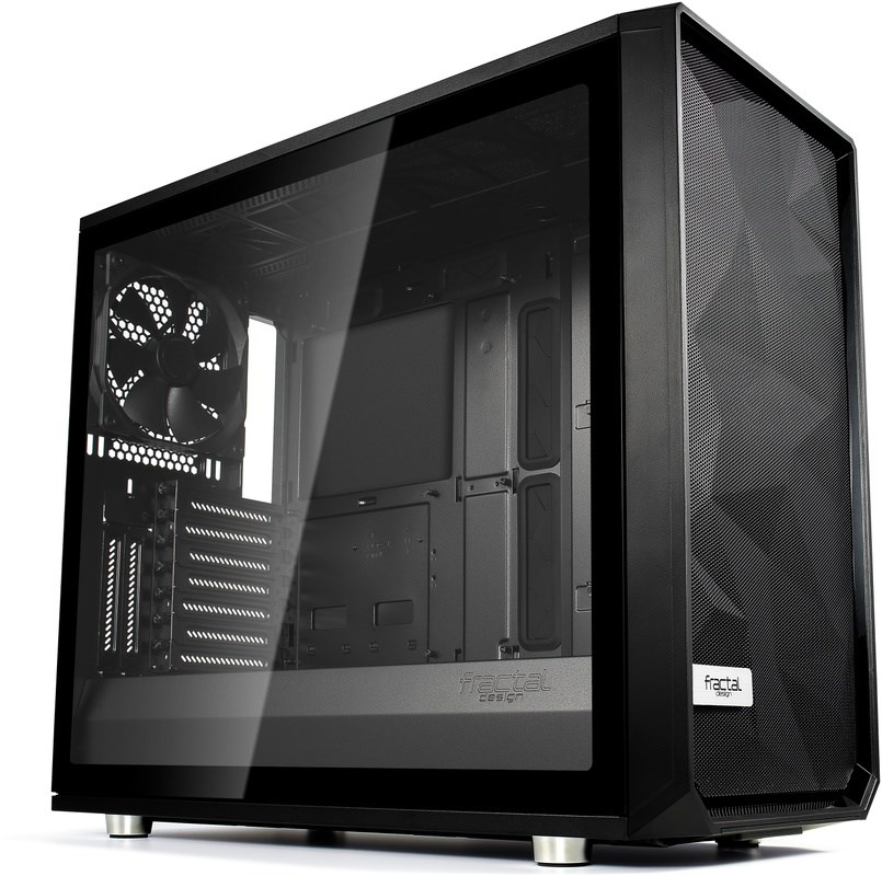 FRACTAL DESIGN Meshify S2 Blackout TG Light Tint