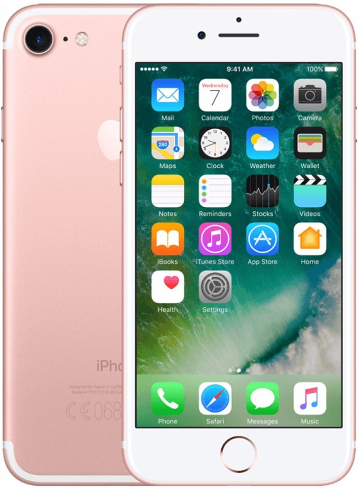 FORZA iPhone 7 128GB RoseGold ( A Grade )