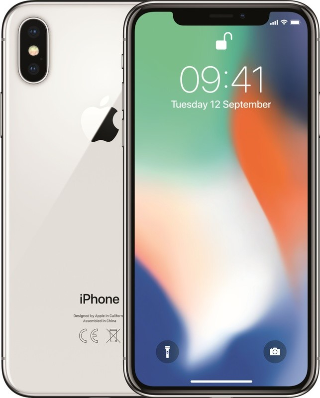FORZA iPhone X 64GB Silver ( A Grade )