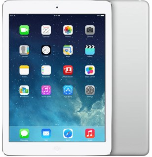 APPLE iPad Air 16GB Wifi Only (A Grade) Silver
