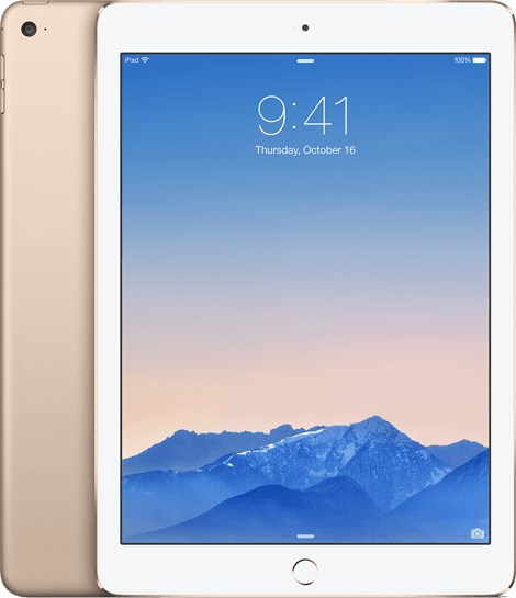 APPLE iPad Air 2 16GB Wifi Only (A Grade) Gold