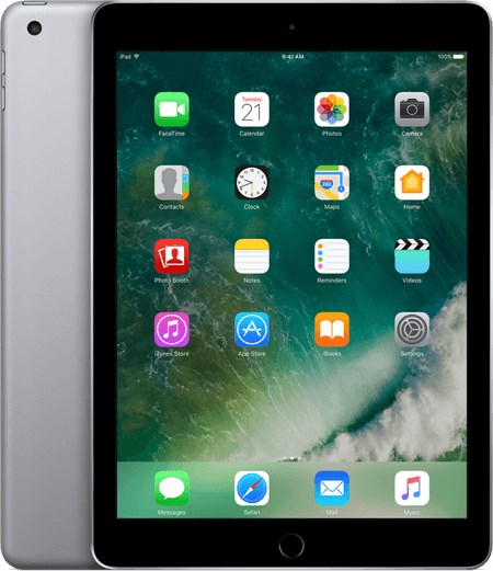 APPLE iPad (2017) 32 GB Wifi only (A Grade) Black