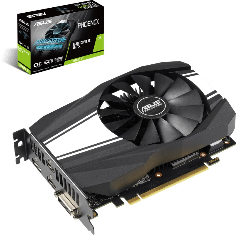 ASUS GeForce GTX 1660 Ti Phoenix OC 6GB