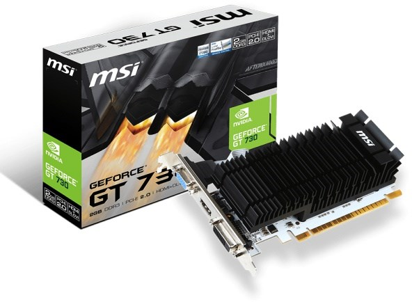 MSI GeForce GT 730 Passive 2GB