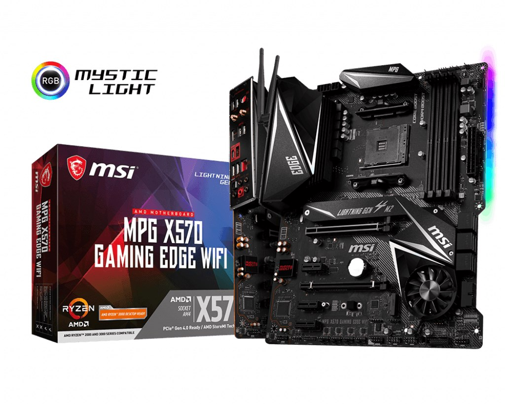 MSI X570 Gaming Edge Wifi MPG