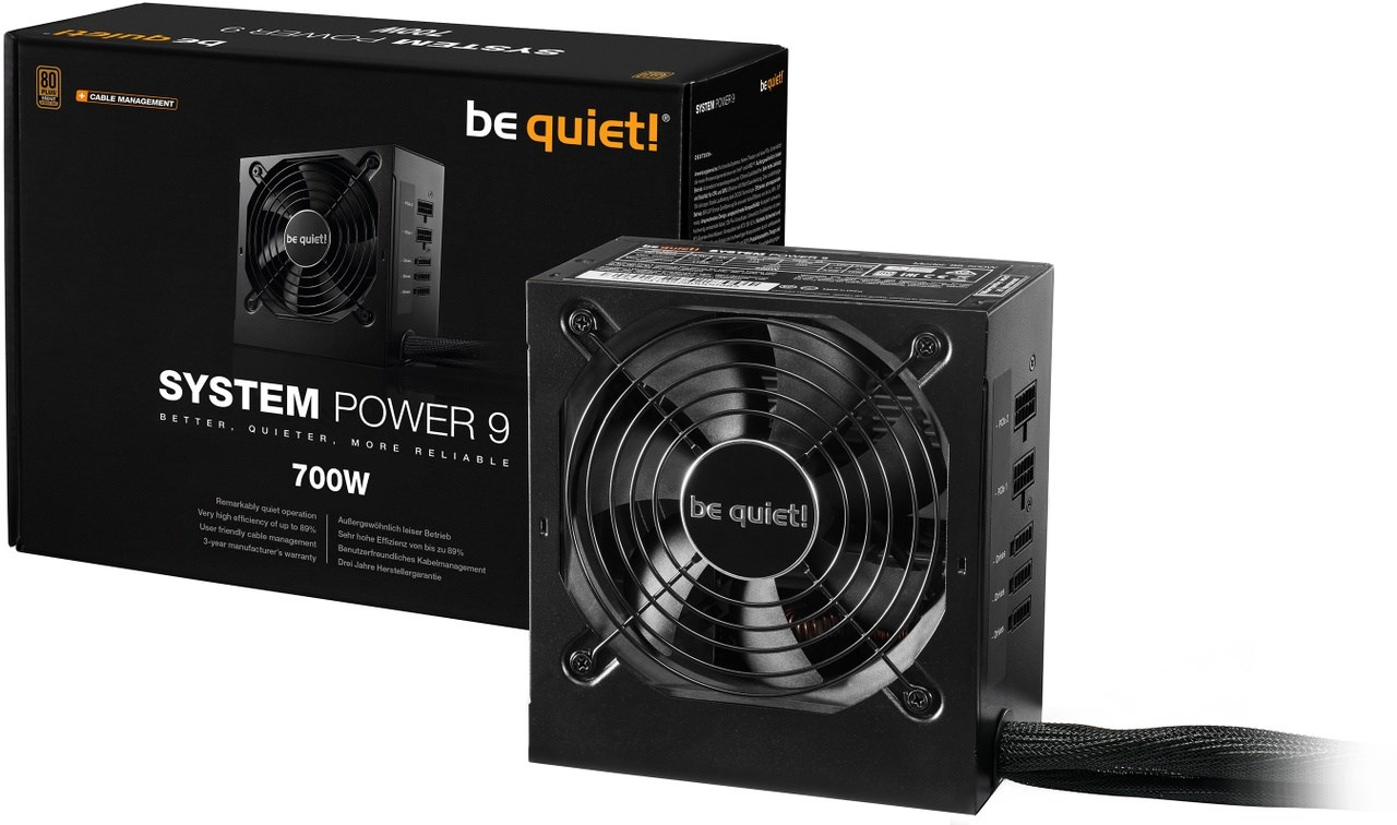 BE QUIET! System Power 9 CM 700W 3