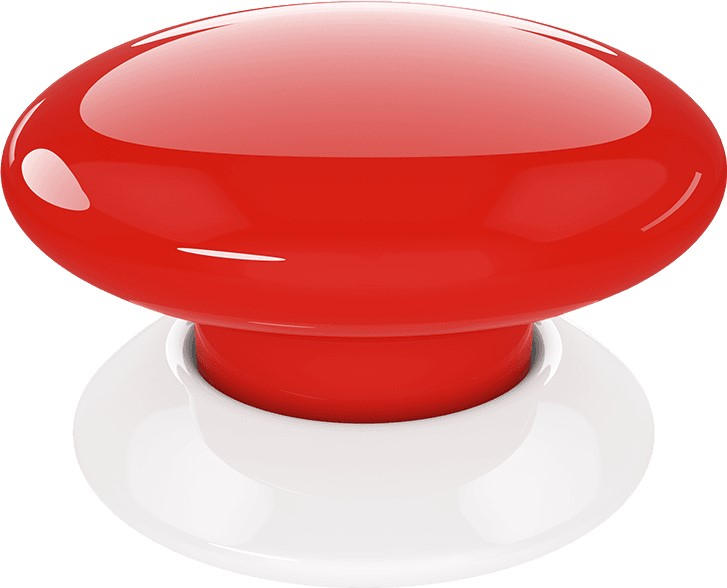 FIBARO The Button (Z-wave Plus) Rood