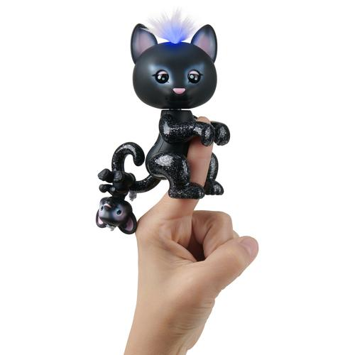 WowWee Fingerlings baby black panther -Twilight
