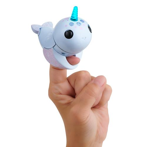 WowWee Fingerlings Light Up Narwhal - Nori