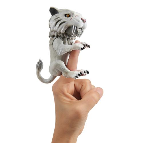 WowWee Untamed Sabretooth - Silvertooth