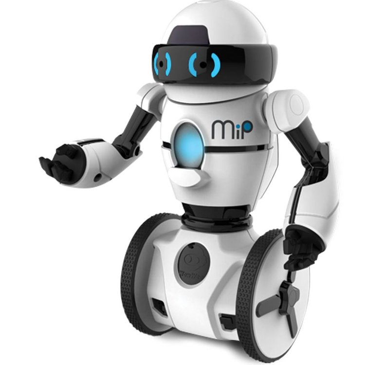 Robot MIP White 4 x AAA (not included)