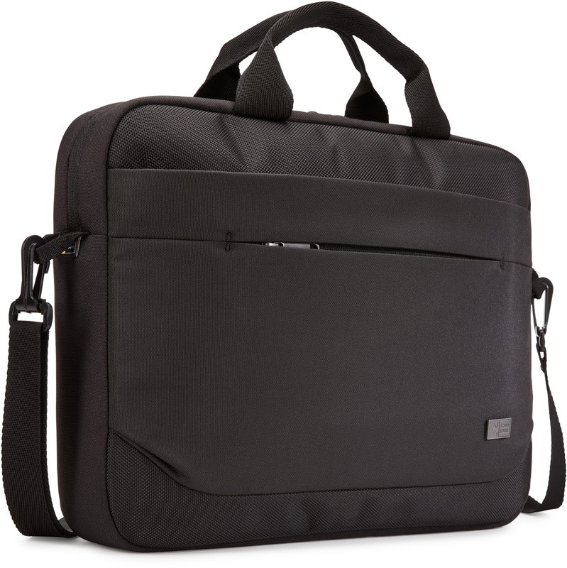 """CASE LOGIC 14"""" Advantage Attache Black"""