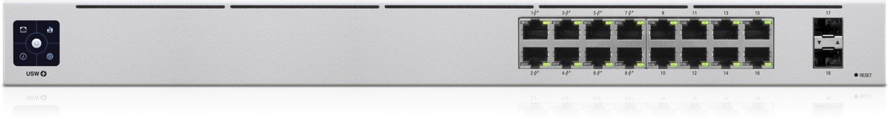 UBIQUITI UniFi Switch 16-POE Gen2 (42W PoE budget)