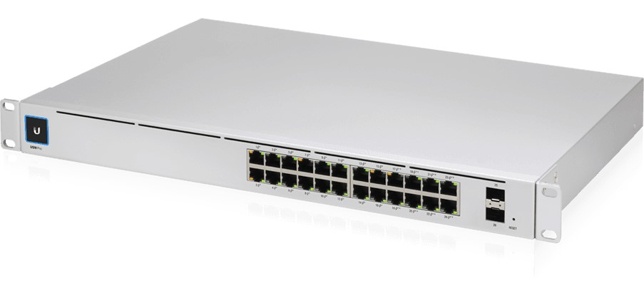 UBIQUITI UniFi Switch PRO 24-POE Gen2 (400W PoE budget)