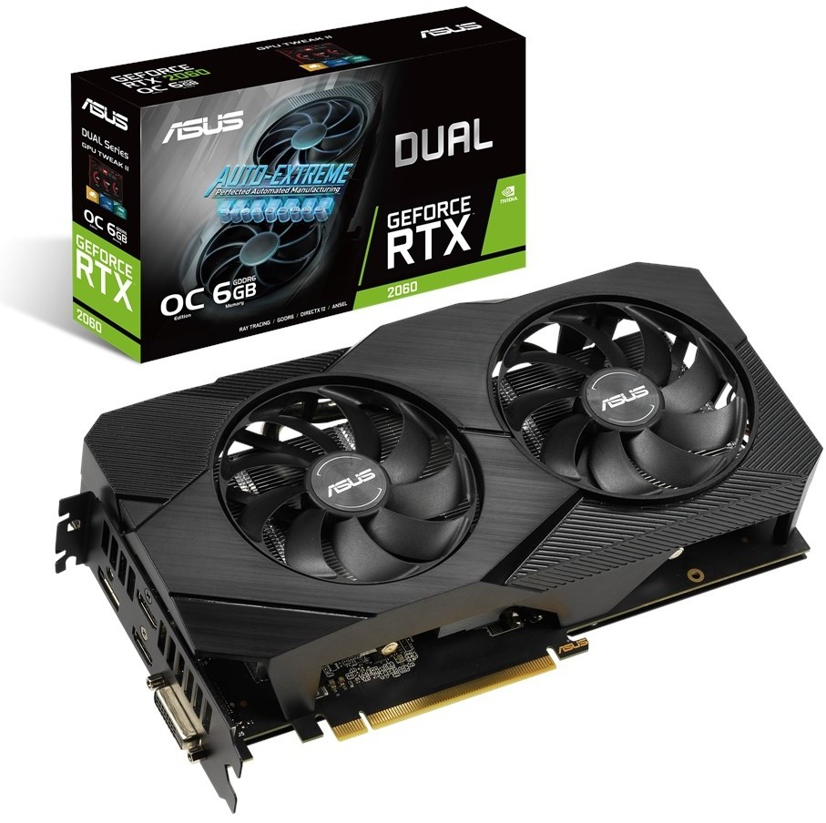 ASUS GeForce RTX 2060 Dual Evo OC 6GB