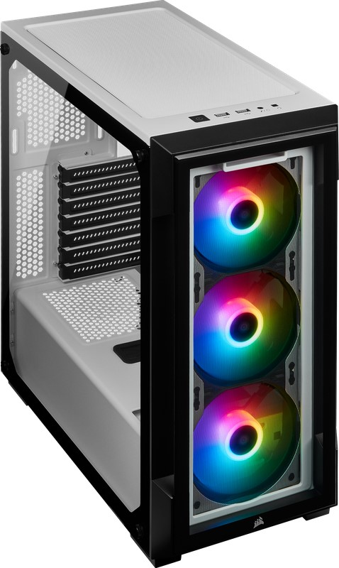 CORSAIR iCue 220T RGB Window White