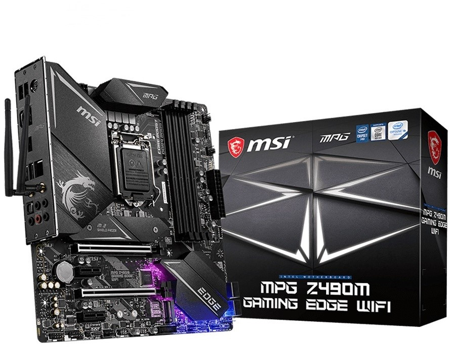 MSI MPG Z490M Gaming Edge WiFi