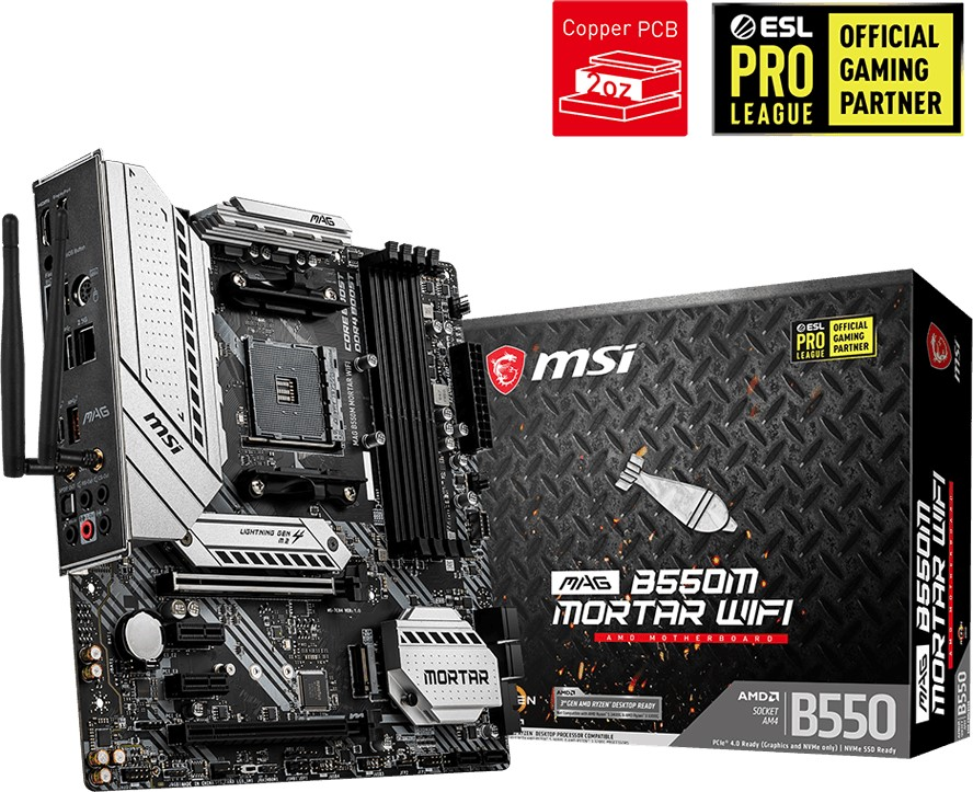 MSI MAG B550M MORTAR.WIFI