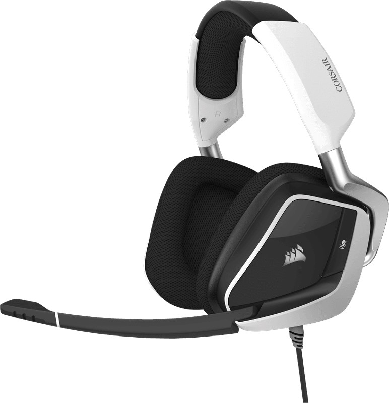 CORSAIR Void RGB Elite USB Premium White