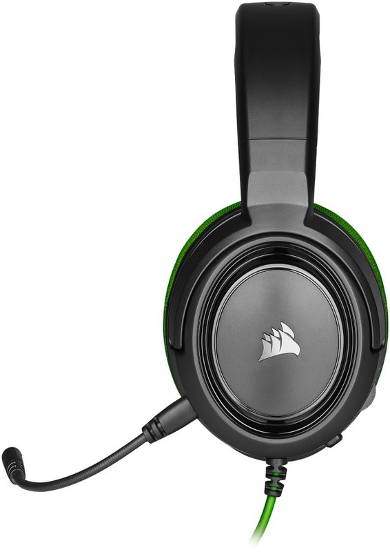 CORSAIR HS35 Black/Green