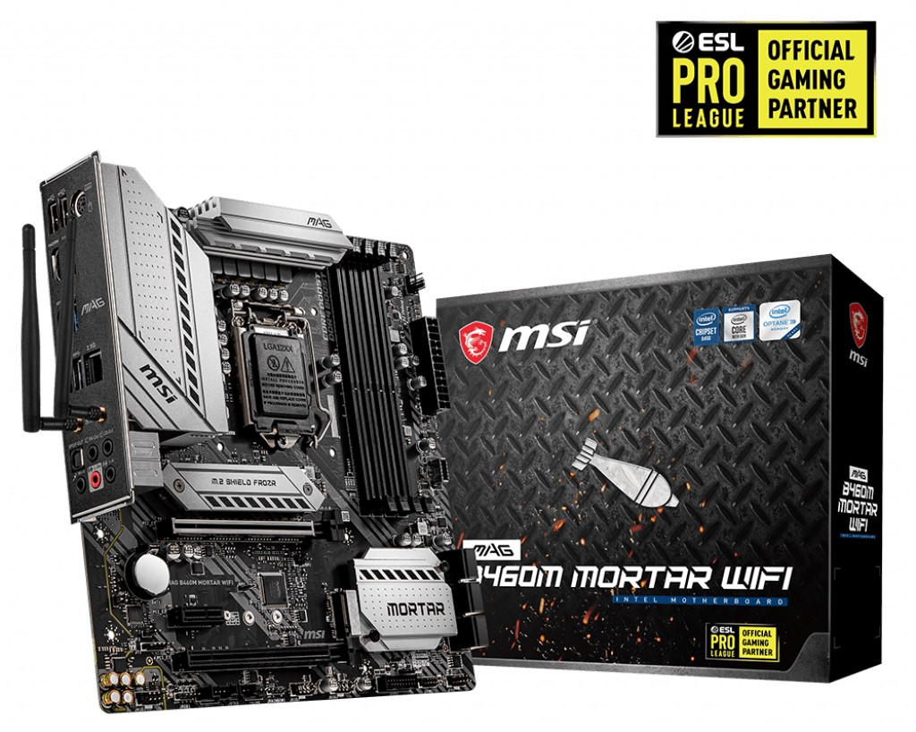 MSI MAG B460M MORTAR WIFI