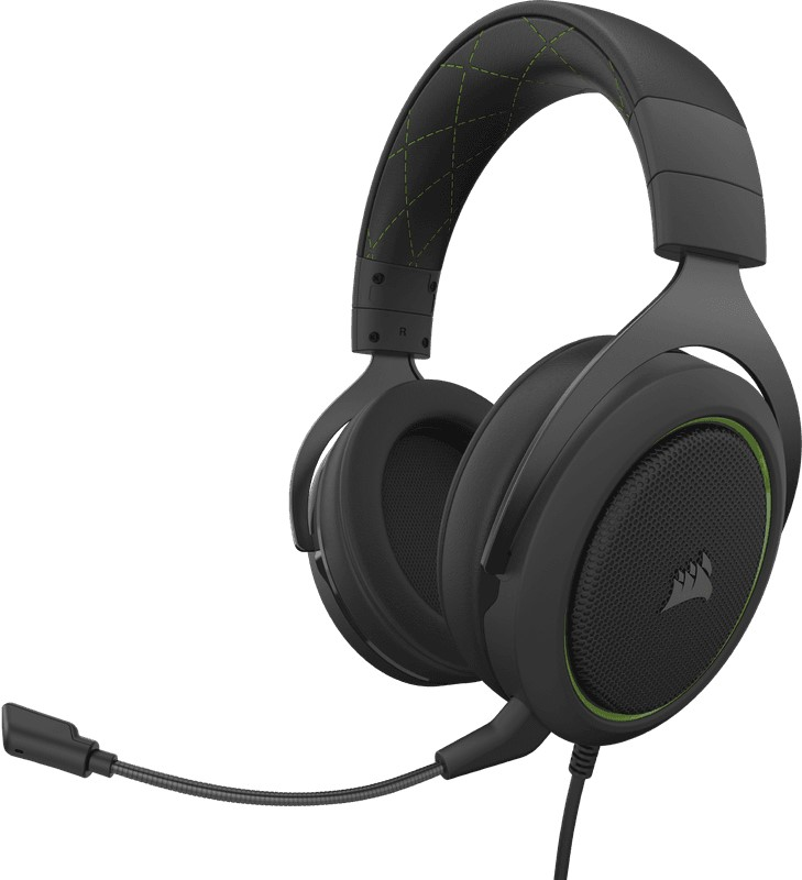CORSAIR HS50 Pro Black/Green