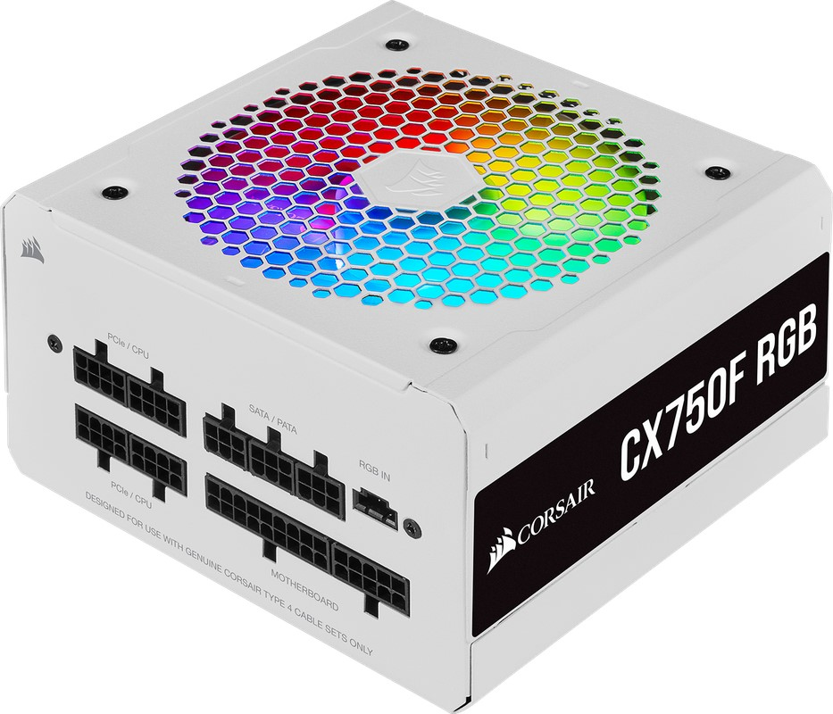 CORSAIR CX750F RGB White